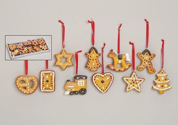 Gingerbread Christmas Ornaments - starting from 040 Euro per piece - wholesale christmas decor