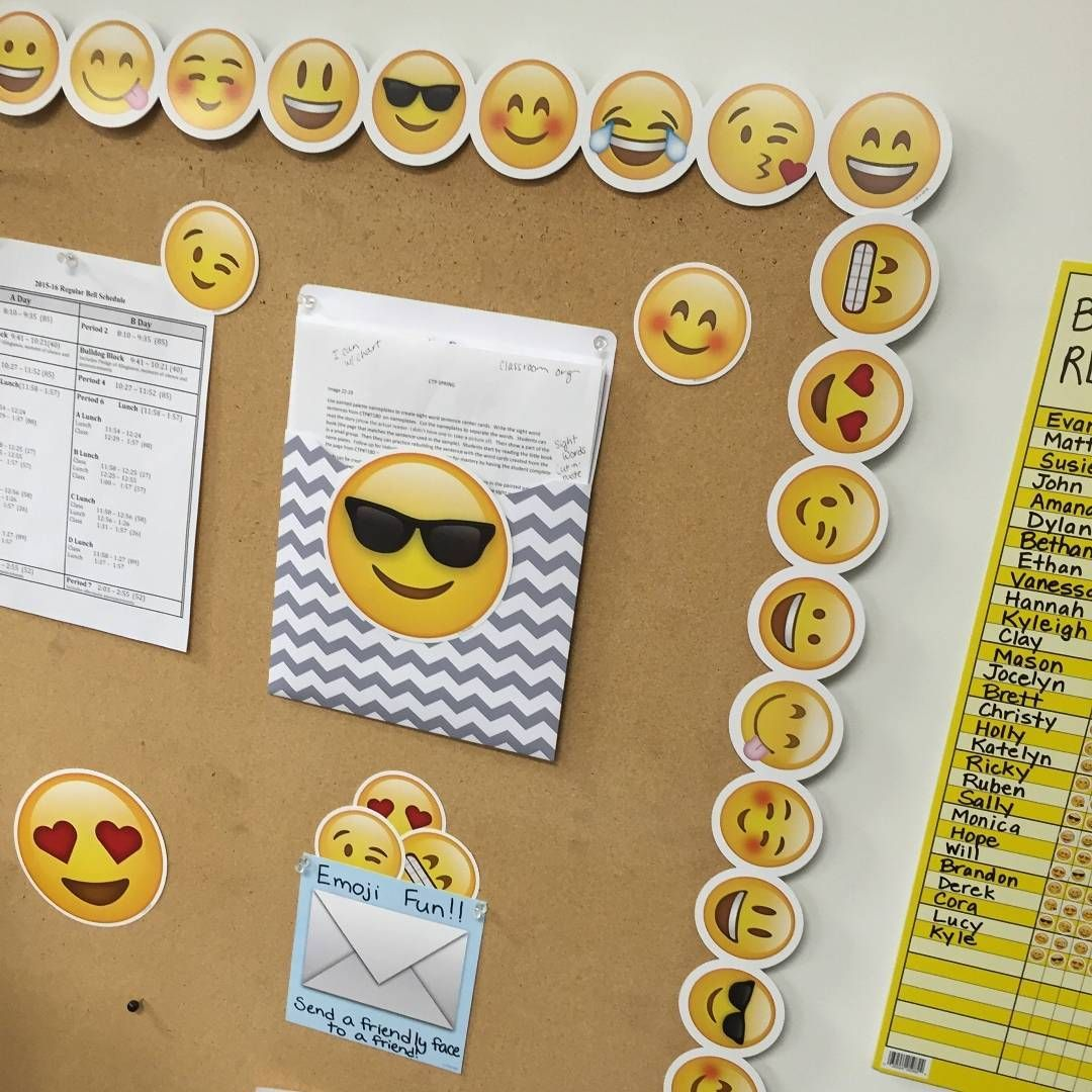 Emoji Fun For The Classroom