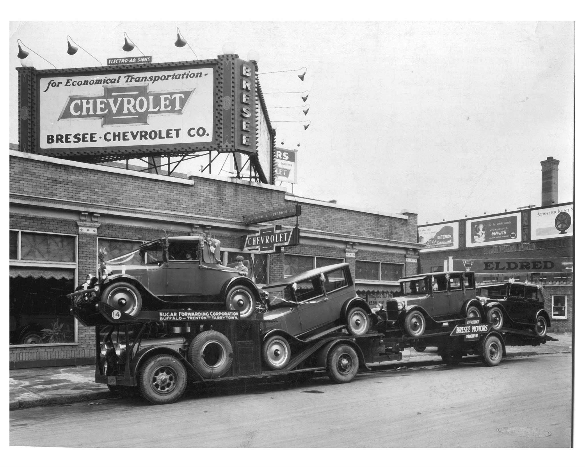 Bresee Chevrolet Old vintage cars, Car dealership