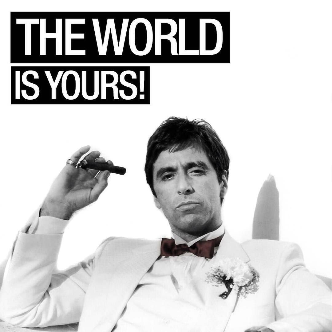 Pin By Agni Solis On Z28 Scarface Quotes Gangster Films Movie Quotes