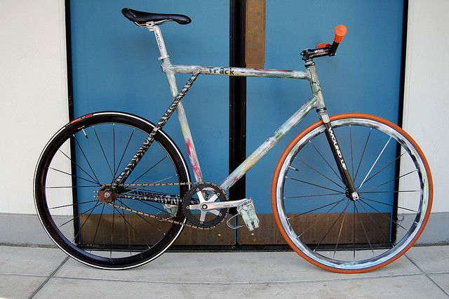 61cm Gt Gtb Track Bike W Wound Up Fork Fixie And Bicycling