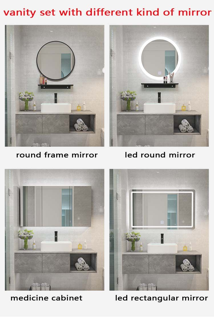 Simple Bathroom Vanity Different Kinds Of Mirror Is Available Simple Bathroom Round Mirror Bathroom Medicine Cabinet Mirror [ 1108 x 750 Pixel ]