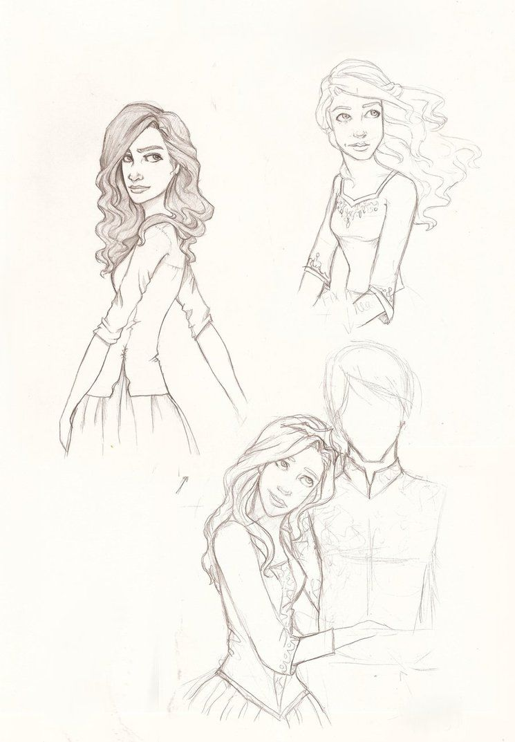 Bayern Girls By Hil A Ree On Deviantart Character Sketch Art