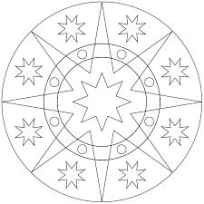Bildergebnis Für Ausmalbild Mandala Einfach Garten Und Draußen