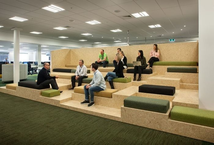 Office tour entertainment company offices auckland for Innendesign schule