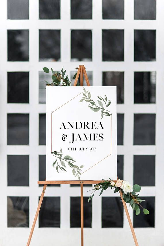Wedding Welcome Sign Wedding Menu Sign Wedding Seating