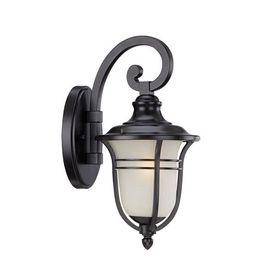 Acclaim Lighting Montclair 13.75-In H Matte Black Outdoor Wall Light 3