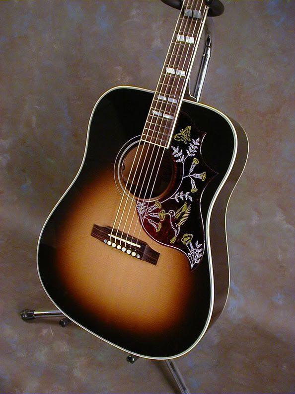 Gibson Hummingbird Wikipedia Guitar Vintage Guitars Acoustic Guitar Design
