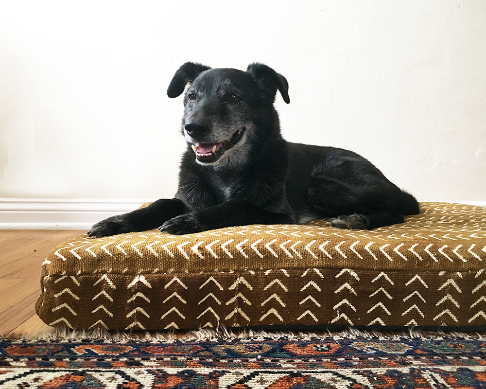 Pin by Fabrics of Humanity on Mud Cloth Dog Beds Pet bed