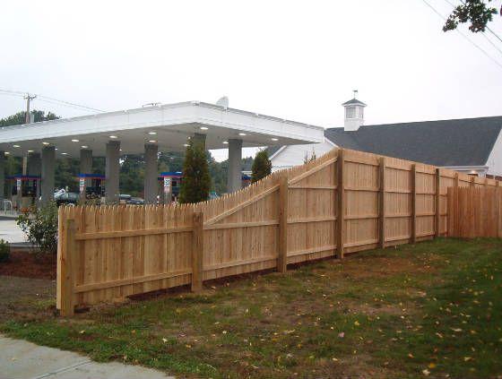 Cedar Fences Backyard Fence Decor Backyard Fences Cedar Fence