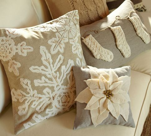 Neutral Holiday Pillow Covers Pottery Barncould Be Done