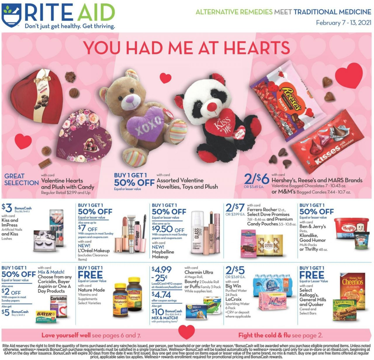 Rite Aid Flyer Valentine S Day In 2021 Online Coupons Codes Rite Aid Weekly Ads