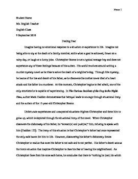 Ap Literature Essay
