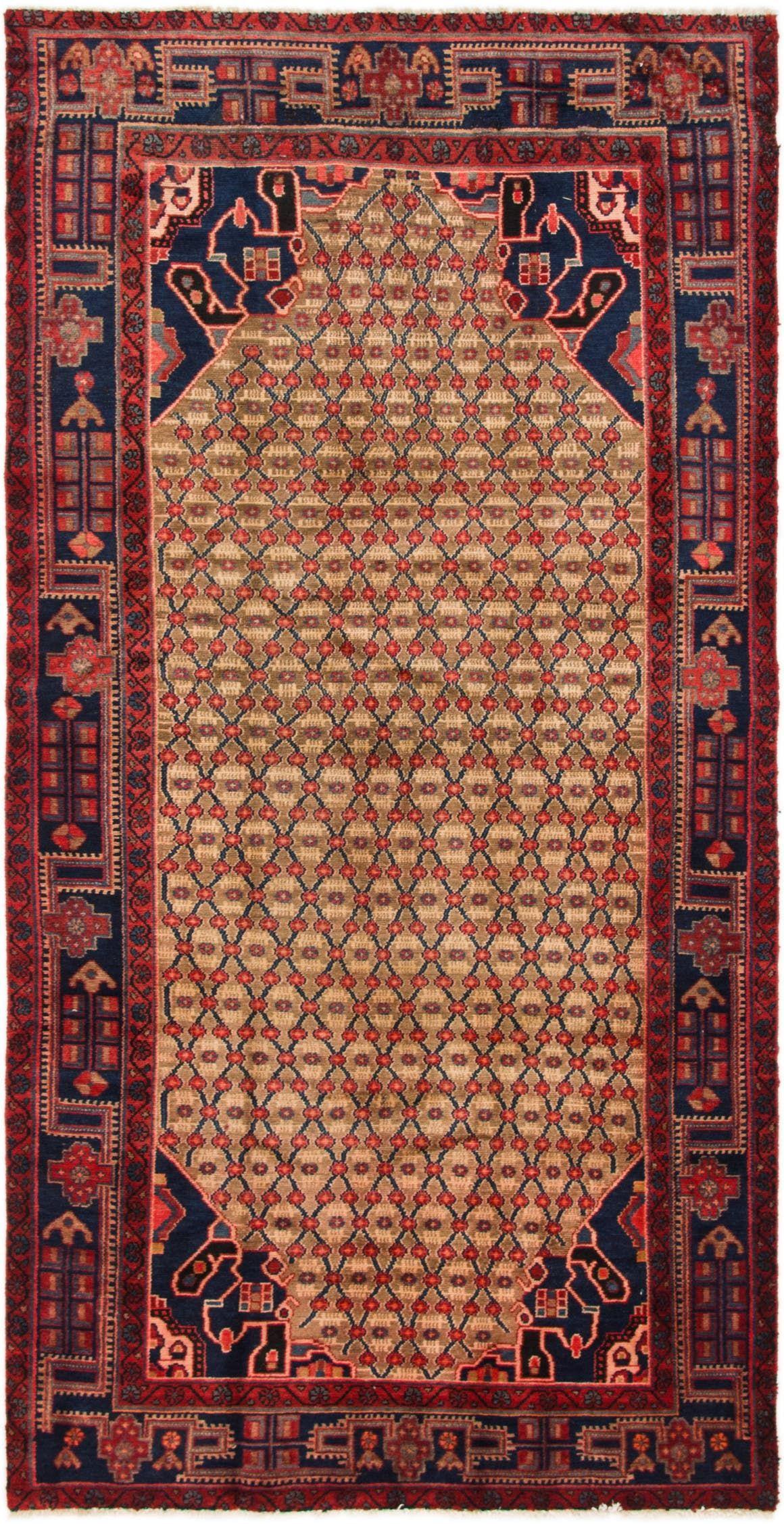 Koliaei Beige Antique 10 Ft Runner Area Rug In 2020 Rugs On Carpet Persian Rug Runners Rugs