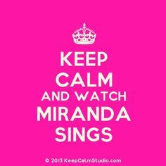Make shure to watch Miranda Sings on youtube!!! #funny #miranda$ings #youtube ;)