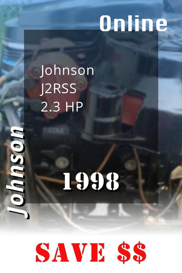 1998 J2rss Johnson 2 3hp Outboard Motor Outboard Repair Manuals Diy Repair