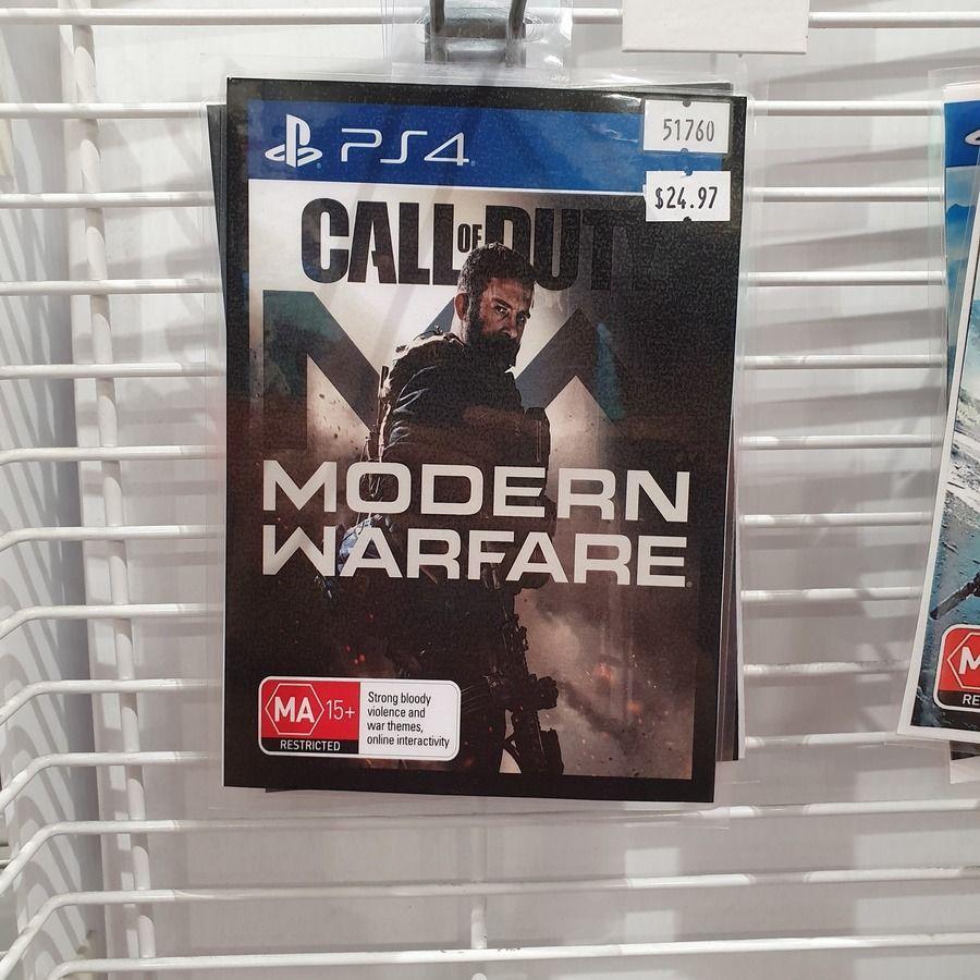 Ps4 Xb1 Call Of Duty Modern Warfare 2019 24 97 Costco