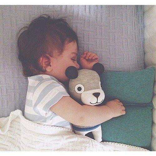 Immagine di baby, cute, and sleep