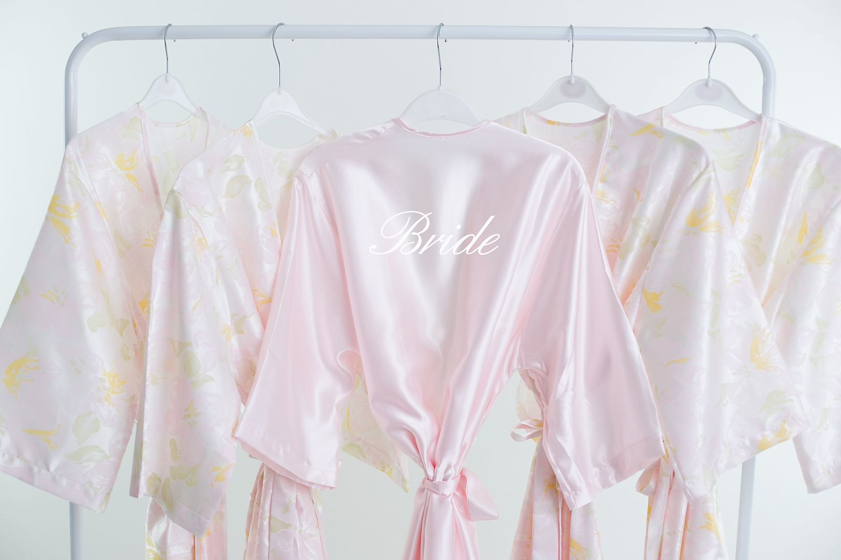 Floral Robe UK, Bride Robe in pretty pastel floral colours, also ...