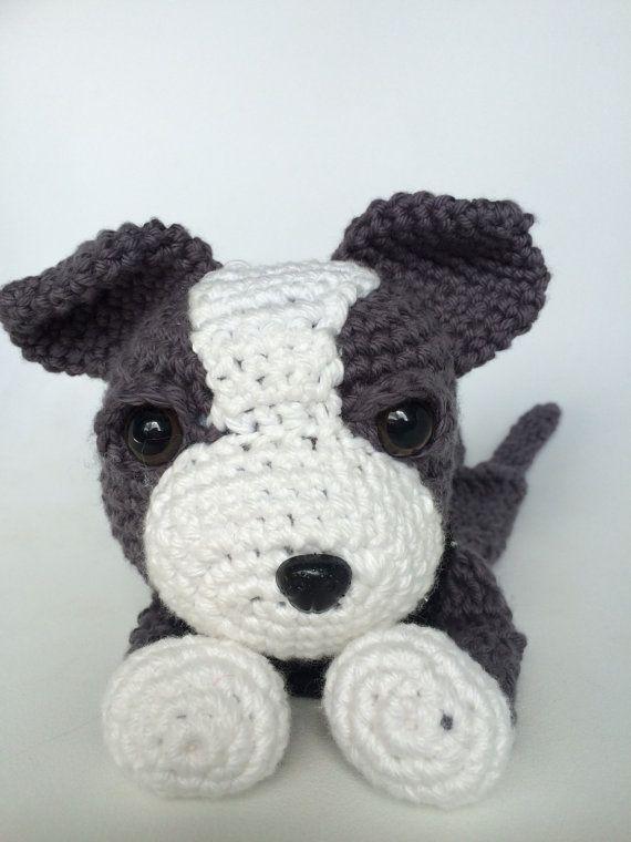 Resultado de imagen para perros pitbull tejidos a crochet | perritos ...