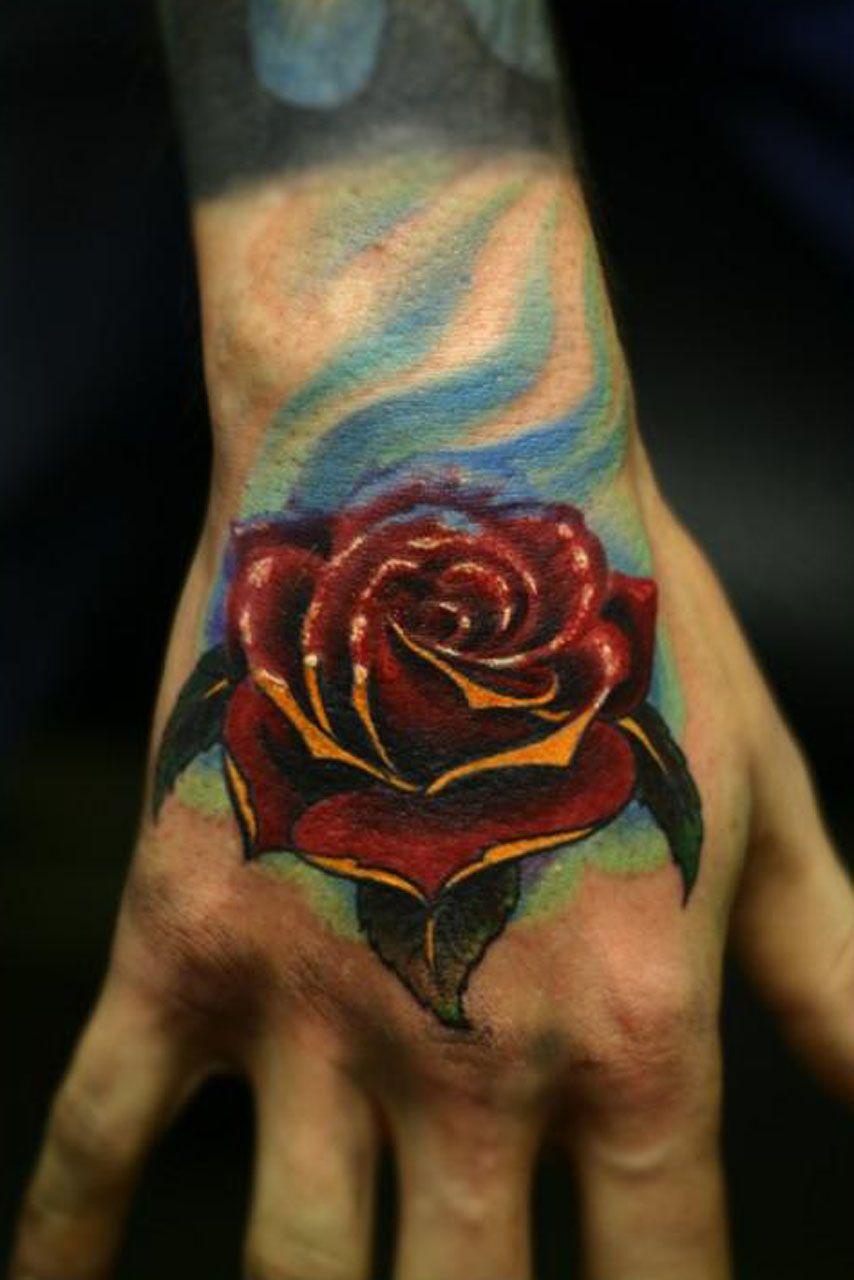 3d rose tattoos tribal Rose tattoos for men, Tattoos for