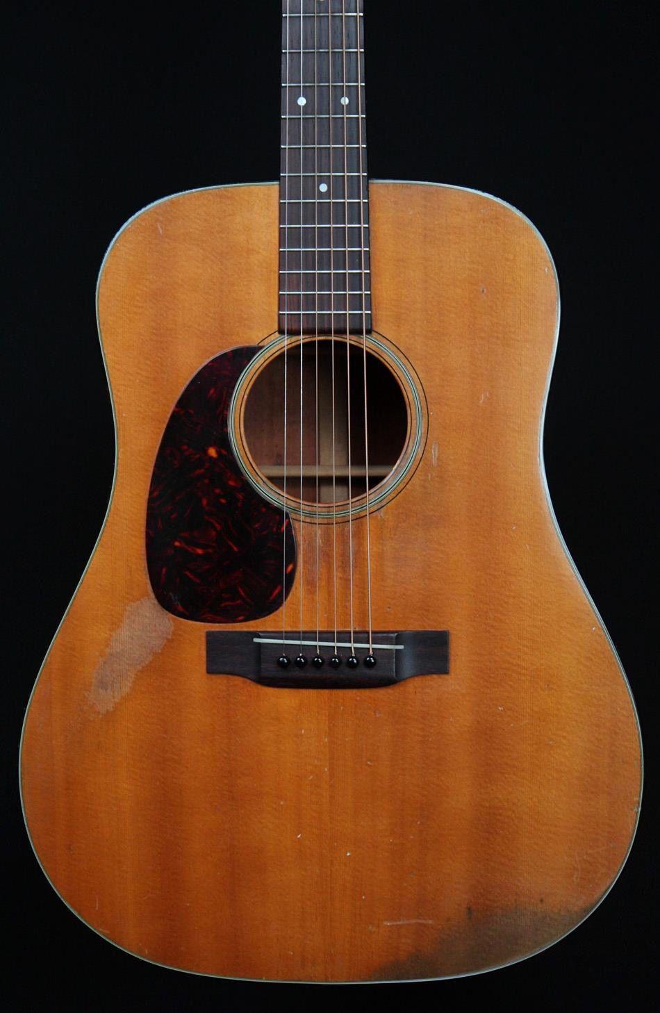 Left Handed 1963 Martin D 18 Left Handed Acoustic Guitar Guitar Lefty Guitars