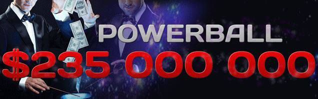 Nobody could win the Powerball jackpot U.S. and therefore this Wednesday draws about $ 235 million!  You go across his luck?  Choose the: http://www.moje-obchody.cz/en/online-betting/