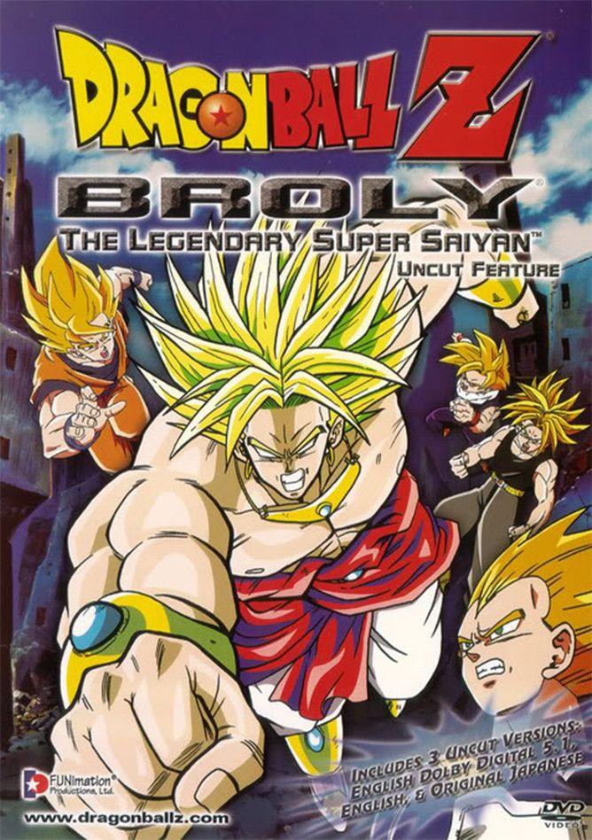 Dragon Ball Z Broly The Legendary Super Saiyan I don't