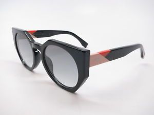 fecd4f7318 Brand : Fendi Model Number : FF 0151/S Color Code : 807 JJ Frame Color :  Black Lens Color : Grey Gradient Polarized? : No Size : 51mm-22mm-140mm  Origin ...