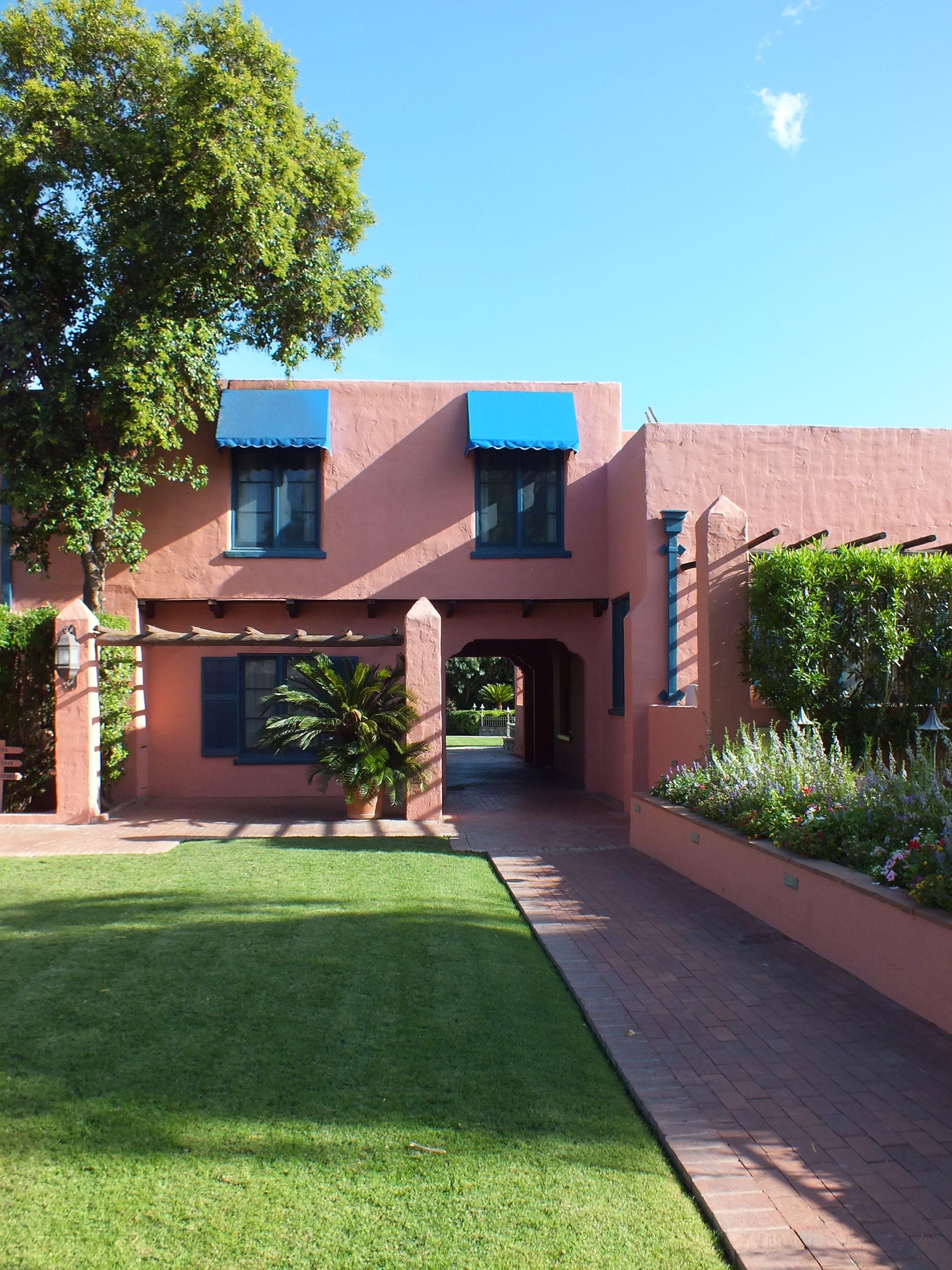 Arizona Inn Tucson Captivating Color In 2019 Arizona Tucson