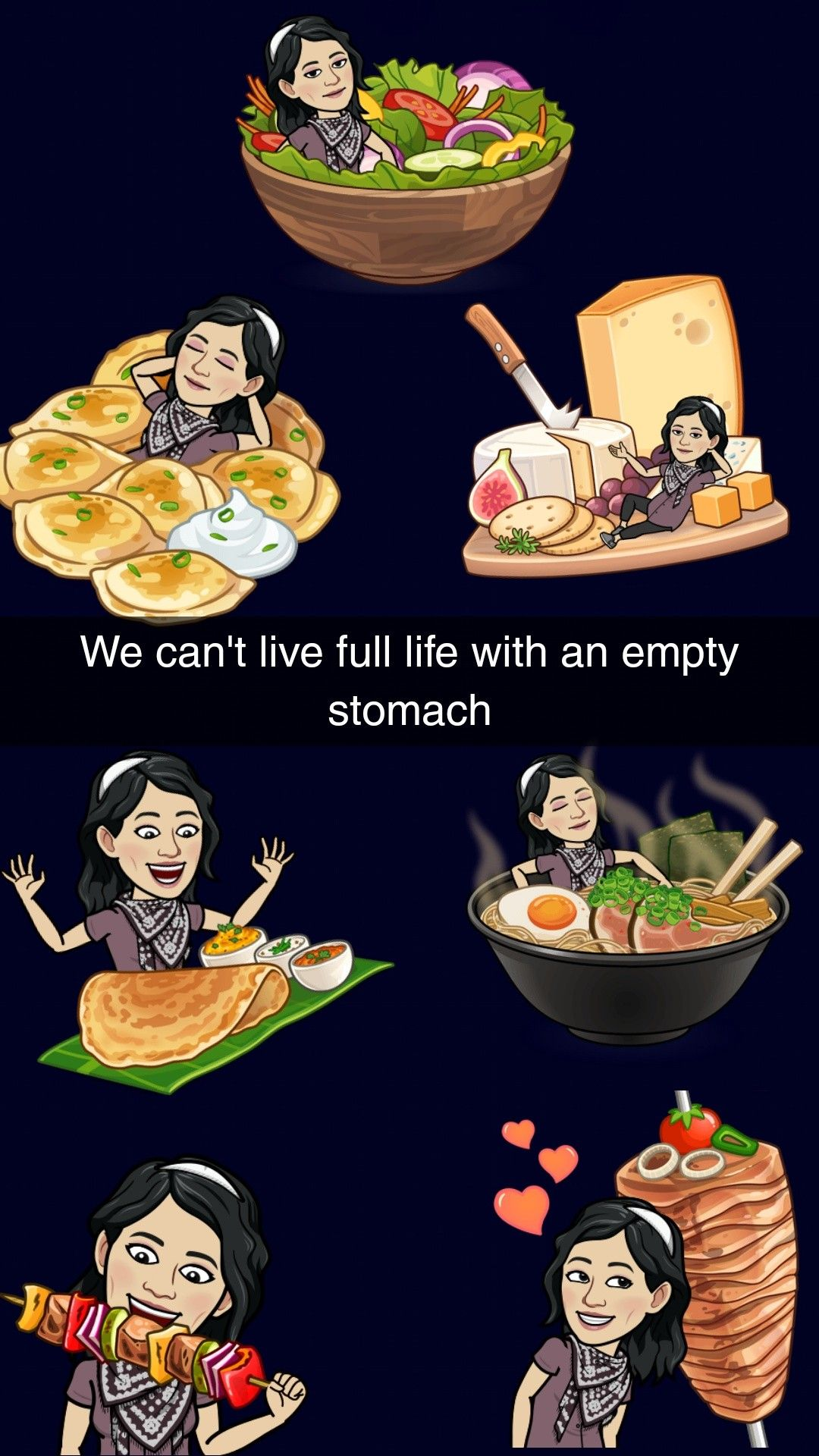 In love with Food 🍕🍔🍟💤 ️ snapchat snaps snapideas food