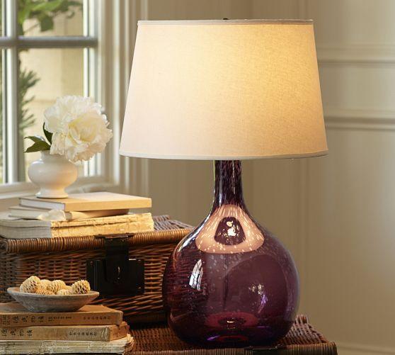 Best 25 Glass Table Lamps Ideas On Pinterest Designer
