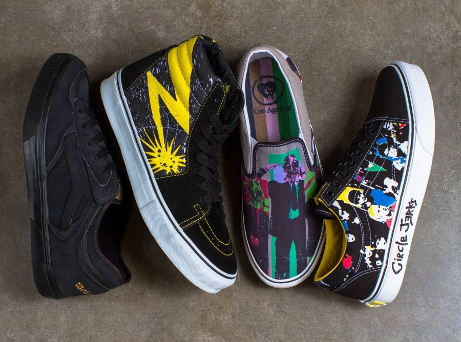 vans sxsw band collab sneakers 17 Vans to Re release Classic Band  Collaborations at SXSW 88623ba09