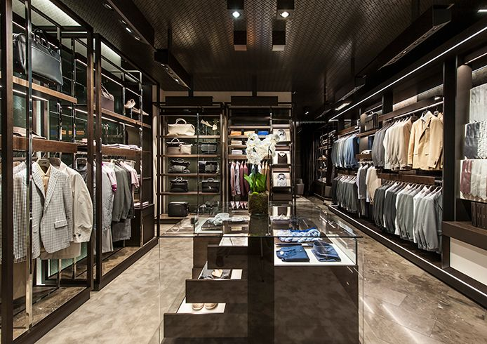 The Canali Boutique In Via Del Babuino 59 Roma Lazio Rome