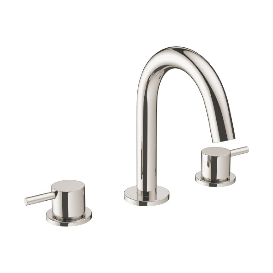 Crosswater M Pro Widespread Lavatory Faucet In Polished Nickel Basin Basin Mixer Basin Taps