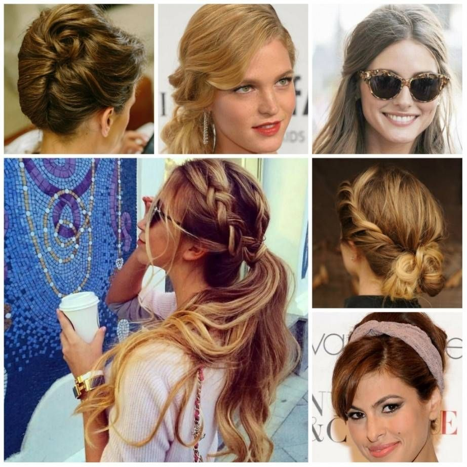 Casual Updo Hairstyle Casual Hair Updos Casual Updo Cute Hairstyles Updos