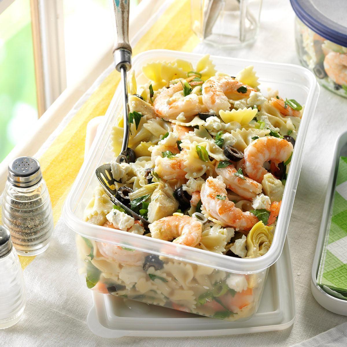 Photo of Artichoke Shrimp Pasta Salad