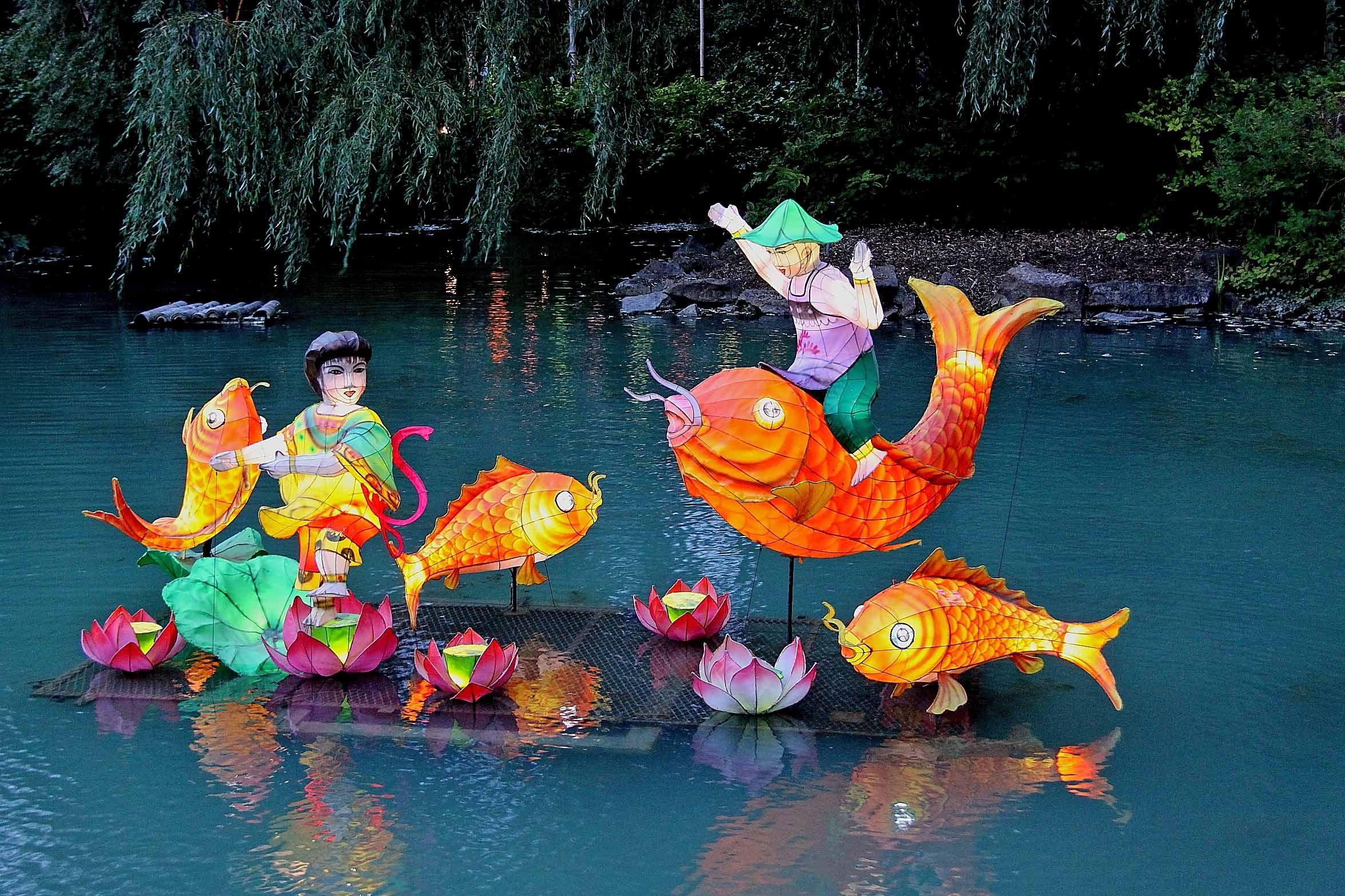lanternes chinoises Montréal 2015 au jardin botanique