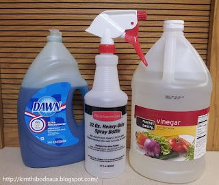 Encore Homemade TwoIngredient Bathroom Cleaner Homemade Cleaners - Bathroom cleaning tips vinegar