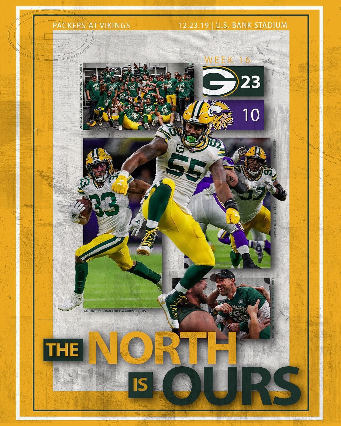 The North Is Ours Green Bay Packers Packers Green Bay Packers Football