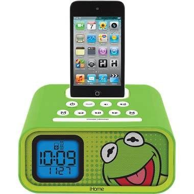 Kermit Alarm Clock/iPod Dock