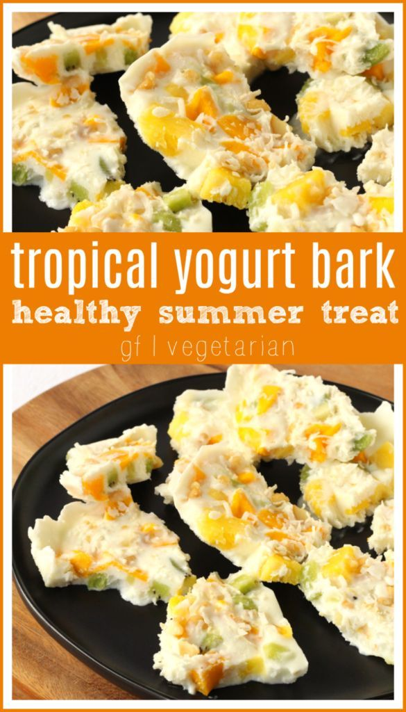 Tropical Yogurt Bark images