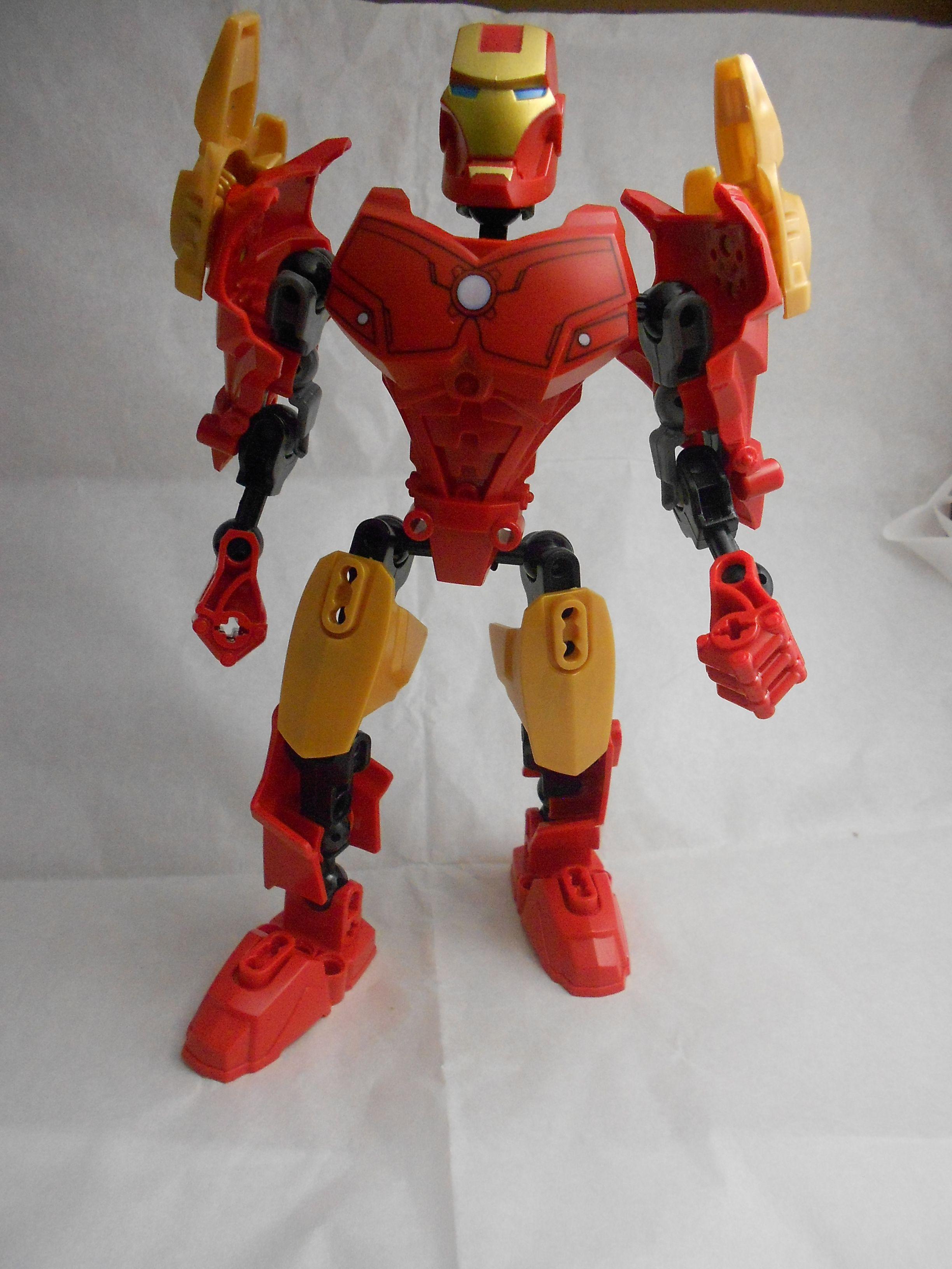 Iron Man Decool Lego KW