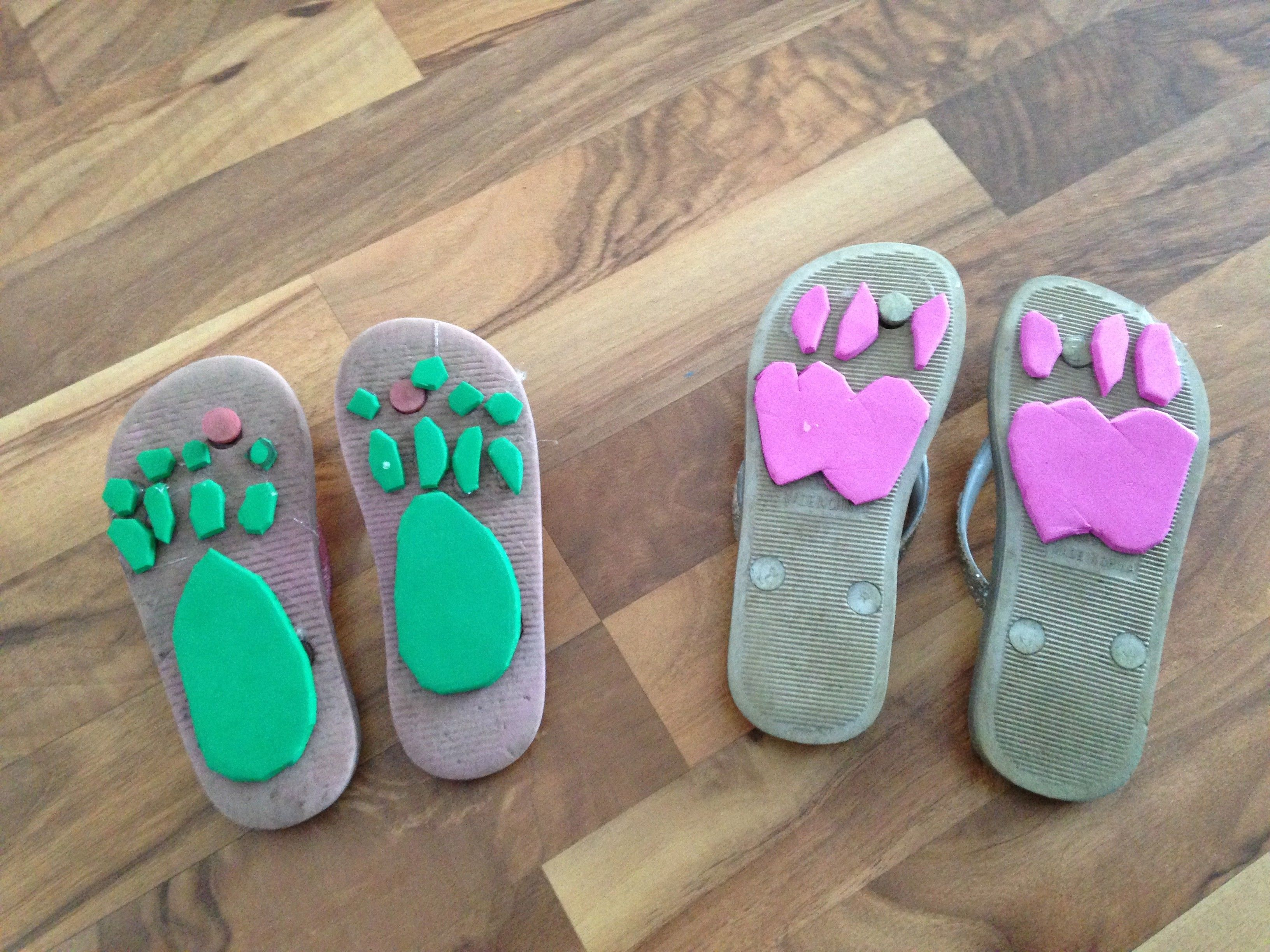 Animal Footprint Shoes With Images