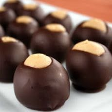 Buckeye Balls - im not from Ohio but i have friends that shared this delish goodness - This is happening Rendee