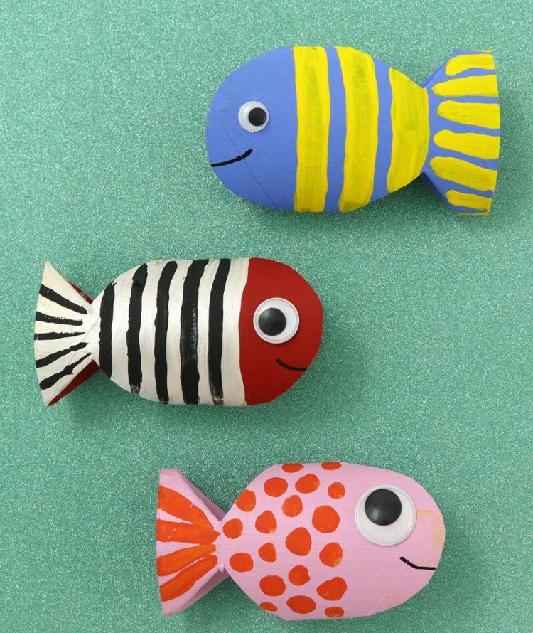 Fische Basteln Mit Kindern Kreative Ideen Anleitungen Und
