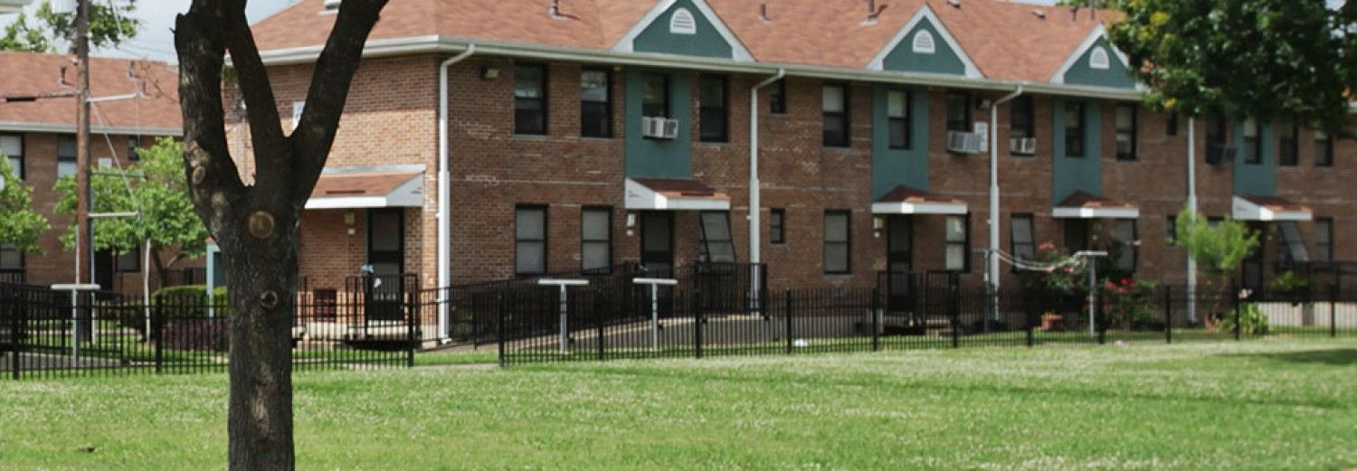 The Houston Housing Authority operates Cuney Homes, a public housing