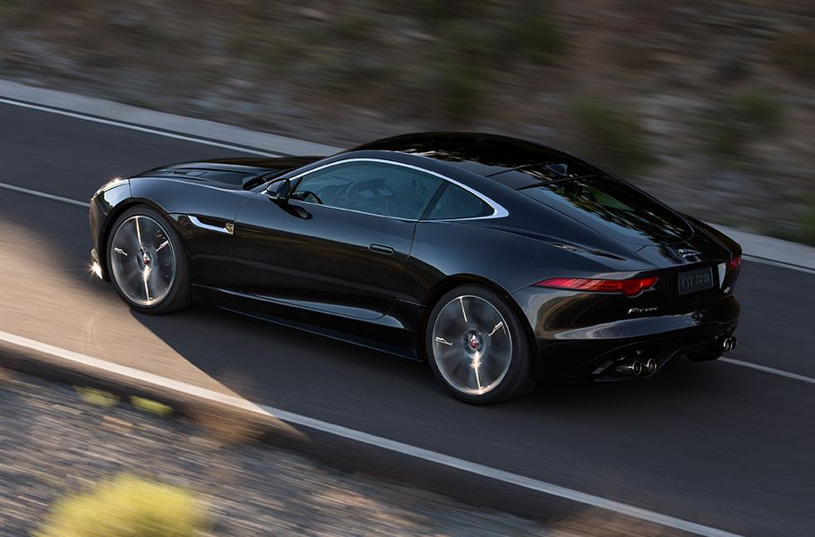 Jaguar F Type R Coupe 550 Hp V8 Jaguar Usa With Images