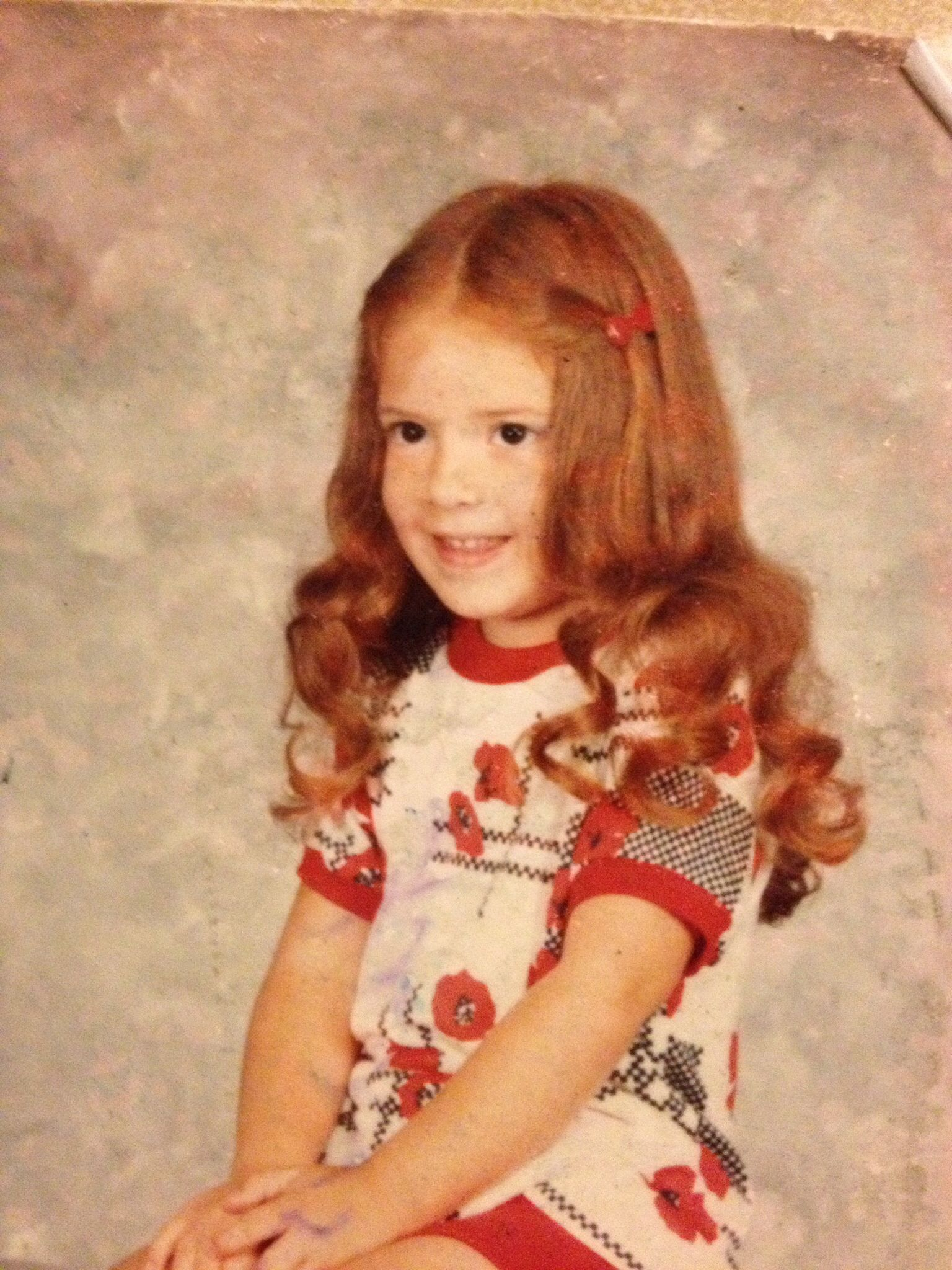 Who is this little redheaded girl?
