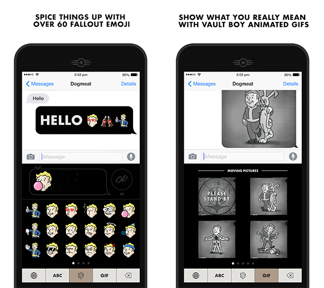 Bethesda Launches Fallout Chat Keyboard App on iOS